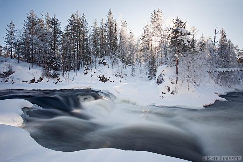 Myllykoski in winter