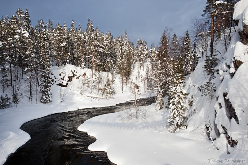 Niskakoski in winter