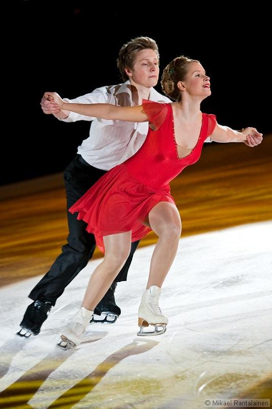 Henna Lindholm and Ossi Kanervo