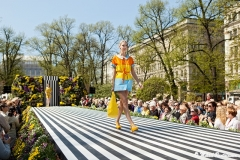 Marimekko Fashion Show 2011, Esplanade Park, Helsinki, Finland