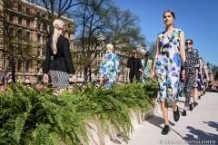 Marimekko Fashion Show 2015, Esplanade Park, Helsinki, Finland