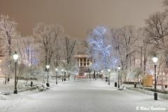 Esplanade Park and Svenska Teatern, Helsinki, Finland (H301)