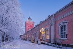 Jetty Barracks, Suomenlinna, Helsinki, Finland (HT511)