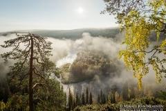 Päähkänäkallio, Kitkajoki, Kuusamo, Finland (KR118)