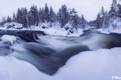 Myllykoski, Kitkajoki, Kuusamo, Finland (L313)