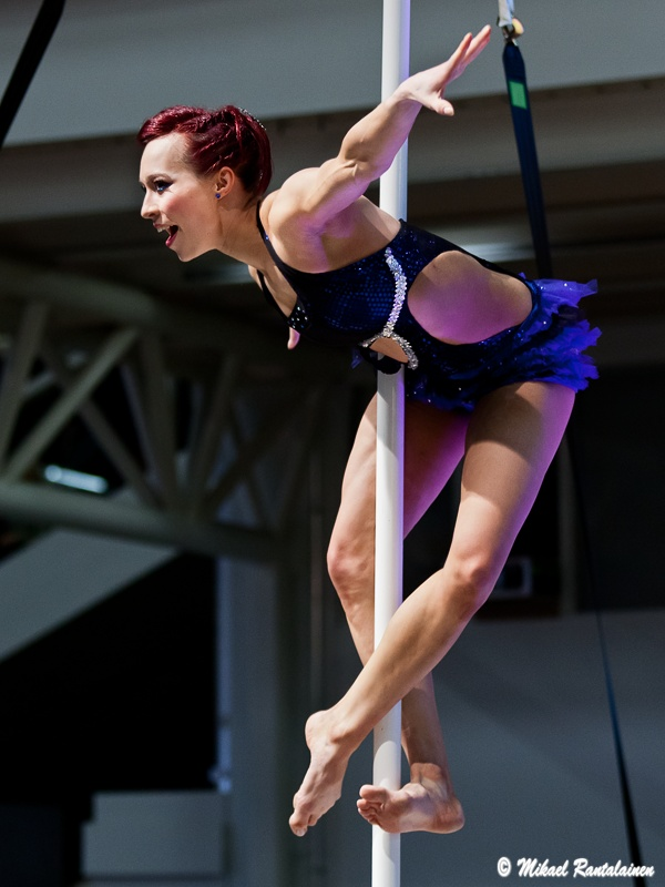 Henriikka Roo / Link to Finnish Pole Dancing Championship 2012 Gallery
