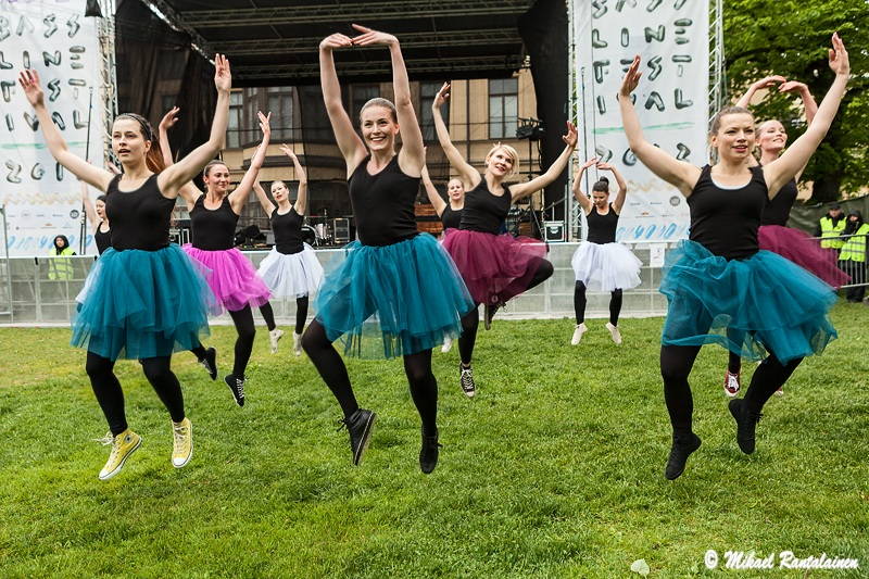 Wannabe Ballerinas at Bassline Festival, Sinebrychoff Park, Helsinki