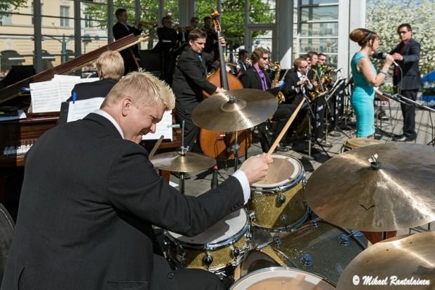 Arricone Big Band feat Reija Lang, Esplanade Park, Helsinki