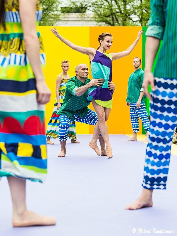 Marimekko Fashion Show 2013, Esplanade Park, Helsinki, Finland