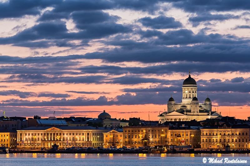 d2d50d55b2f Helsinki Cathedral from Valkosaari