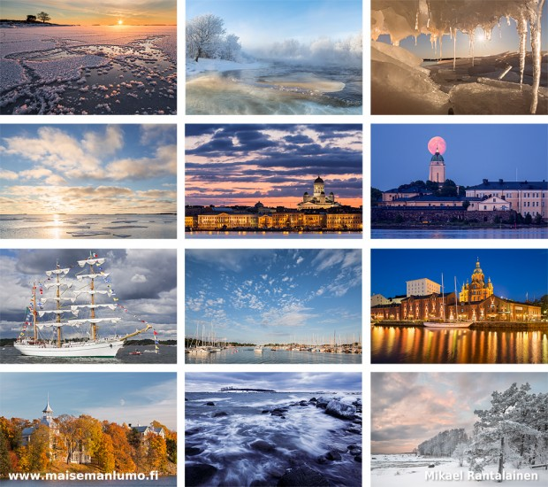 Photos of the Helsinki Calendar 2014