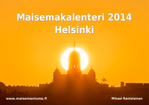 Cover of the Helsinki Calendar 2014
