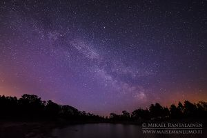 Milky Way, Porkkalanniemi, Kirkkonummi, Finland