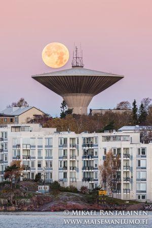 Lauttasaari water tower, Helsinki, Finland