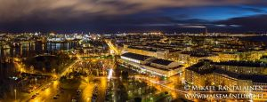 View from Olympic Stadium Tower, Helsinki, Finland