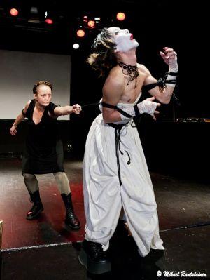 Performance by Tinttu Henttonen and Ken Mai, Helsinki, Finland