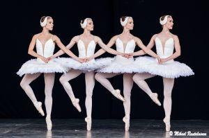 Swan Lake, Finnish National Ballet on summer tour, Helsinki, Finland