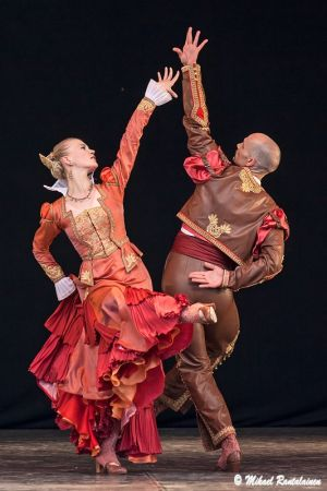 Don Quijote, Finnish National Ballet on summer tour, Helsinki, Finland