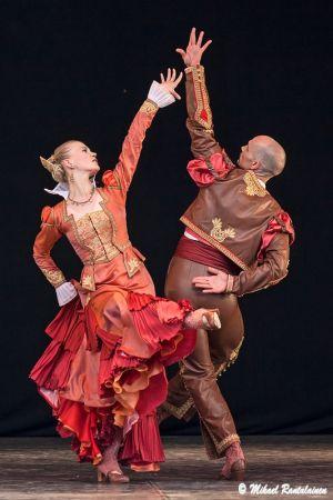 Don Quijote, Finnish National Ballet on summer tour, Helsinki, Finland