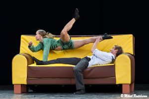 The Sofa, Finnish National Ballet on summer tour, Helsinki, Finland