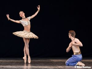 Le Corsaire, Finnish National Ballet on summer tour, Helsinki, Finland