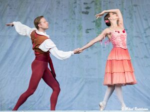 Don Quijote, Finnish National Ballet on summer tour 2013, Helsinki, Finland