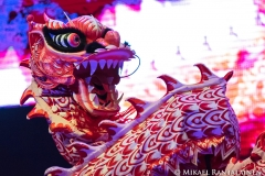 Dragon Dance, Chinese New Year Festival, Helsinki, Finland