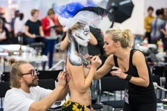 Bodypainting by Kätlin Laas and Torsten Malm, Finnish Bodypainting Championship 2013