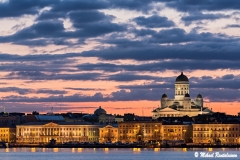 Helsinki Cathedral and Market Square from Valkosaari, Helsinki, Finland (803)