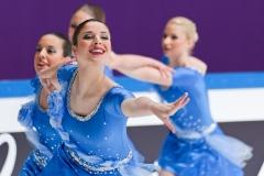 Team Croatia - Zagreb Snowflakes, ISU World Synchronized Skating Championships 2011, Helsinki, Finland
