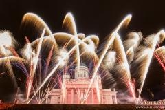 New Year 2016 Celebrations, Senate Square, Helsinki, Finland