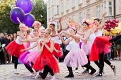 Wannabe Ballerinas at Punajuuri Block Party, Viiskulma, Helsinki, Finland